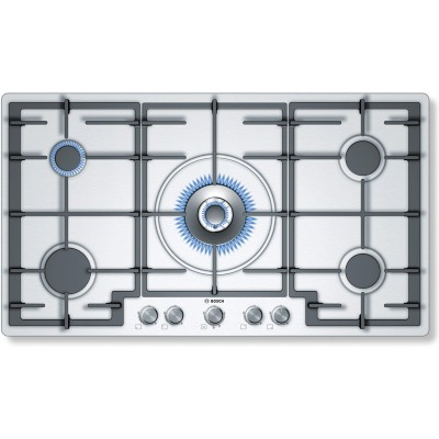 Bosch 90cm Gas Hob With Wok Burner
