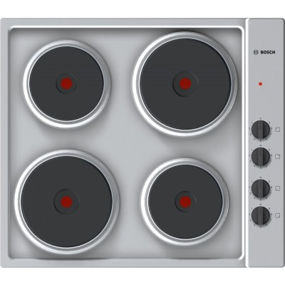 Bosch SERIE 2 PEE689CA1 60CM Stainless Steel Solid Hob