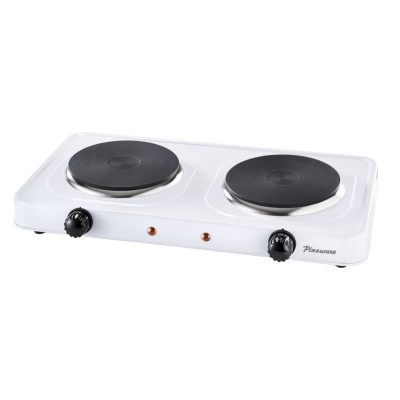 Pineware Solid Double Hotplate