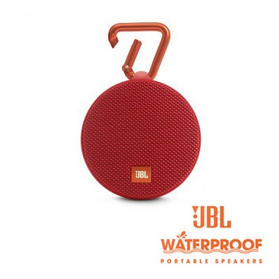 JBL Clip 2 Red Bluetooth Speaker