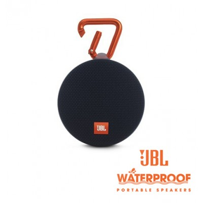 JBL Clip 2 Black Bluetooth Speaker