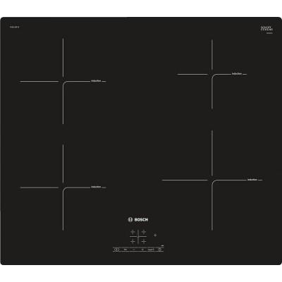 Bosch PUE611BF1B 6600mm Black 4 Plate Induction Hob