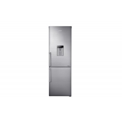 Samsung 400L Inox Combi Fridge With Water Dispenser