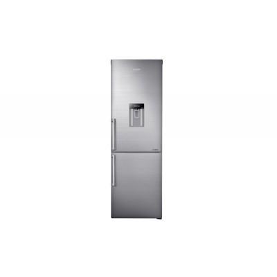 Samsung 308L Inox Combi Fridge With Water Dispenser