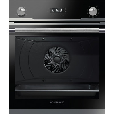 Rosieres 60cm Black/Inox Multifunction Sublime Oven