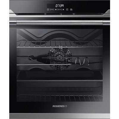 Rosieres 60cm Black/Inox Multifunction Sublime Oven