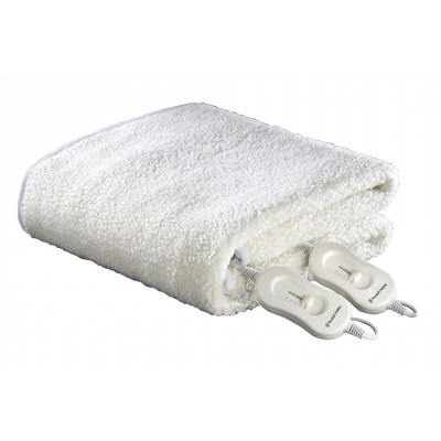 Russell Hobbs Double Fitted Fleecy Electric Blanket