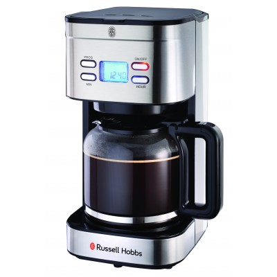 Russell Hobbs RHFD01 Elegance Digital Coffee Maker SS