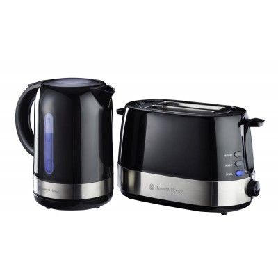 Russell Hobbs Plastic Black Breakfast Pack