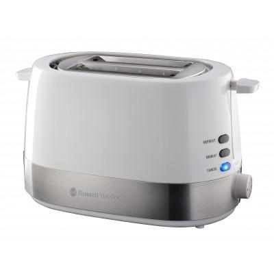 Russel Hobbs Plastic White Toaster