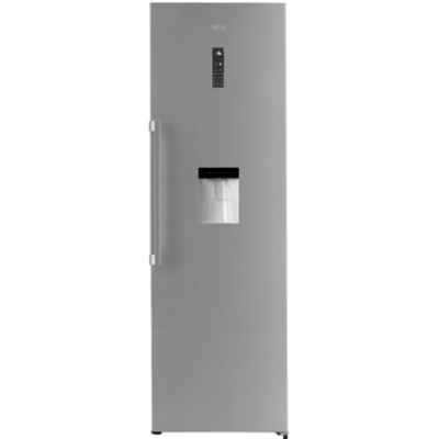 AEG RKB53911NX 355L Upright Cabinet Refrigerator with Water Dispenser