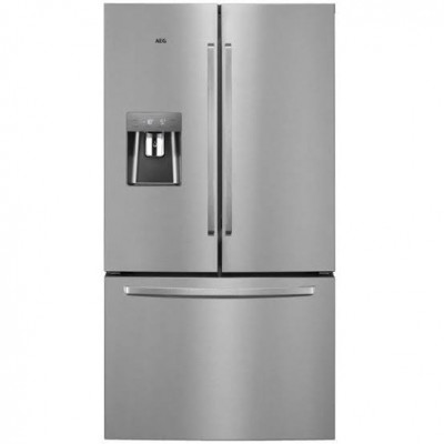 AEG RMB76312NX 536L Silver French Door Fridge
