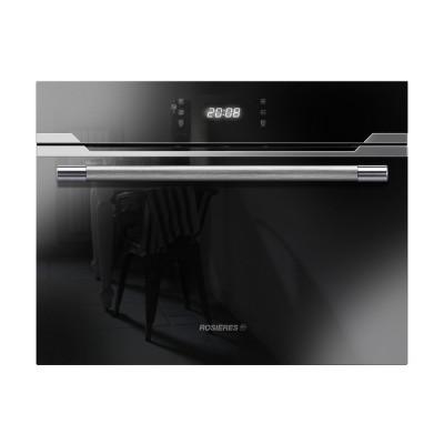 Rosieres 60cm Black/Inox 44L Microwave Sublime Premium Compact Oven
