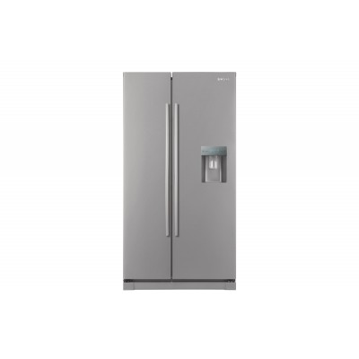 Samsung 660L Metallic Side By Side With Water Dispenser Fridge
