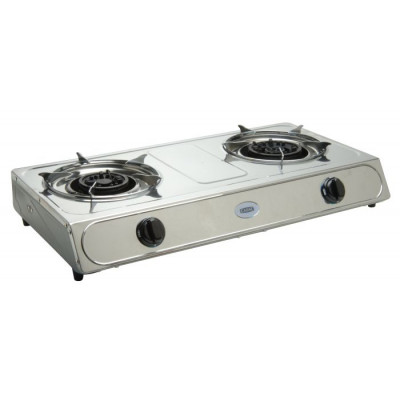 Cadac 193E 2 Plate Stainless Steel Low Pressure Stove