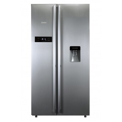 AEG 530L Side By Side Fridge With Water Dispenser