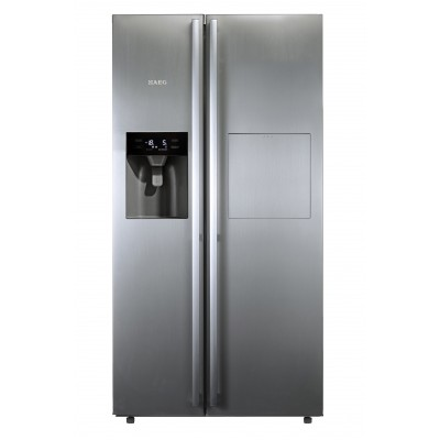AEG 521L Side By Side Fridge With Home Bar