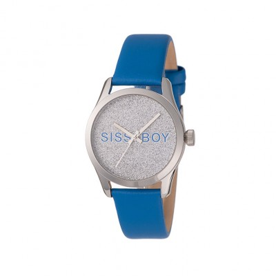 Sissy Boy SBL21HH Signature Blue Leather Watch