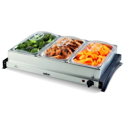 Salton 7L Buffet Server & Hot Tray Combo