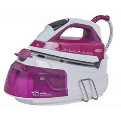 Defy SIS4518WB 2600W  Purple & White Steam Station