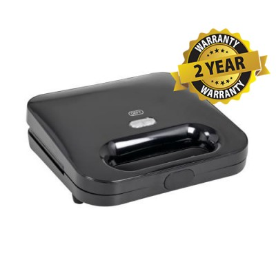 Defy SM616B 2 Slice Black Sandwich Maker