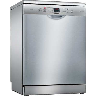 Bosch Serie 4 SMS45JI00Z 12 Place Dishwasher Silver Inox