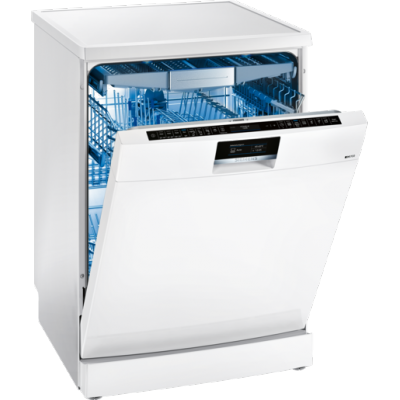 Siemens SN278W01TZ iQ700 14 Place Freestanding Dishwasher White