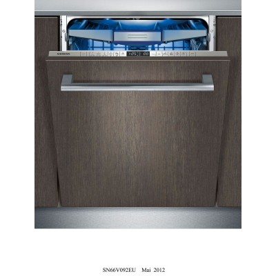 Siemens 600mm Fully Intergrated Dishwasher