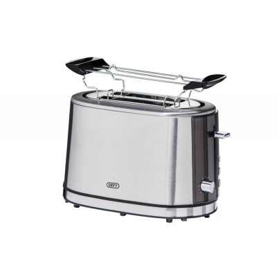 Defy Black/Stainless Steel 2 Slice Toaster