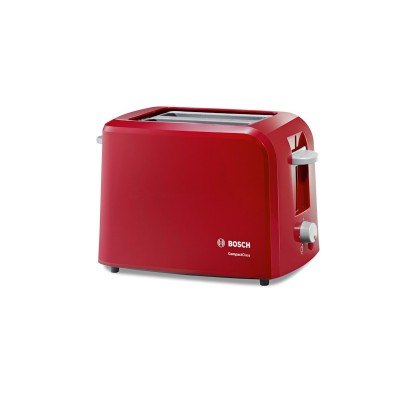 Bosch Red 2 Slice Toaster