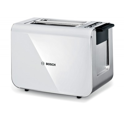 Bosch TAT8611 2 Slice Styline White Compact Toaster