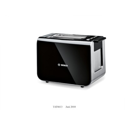 Bosch TAT8613 2 Slice Styline Compact Toaster
