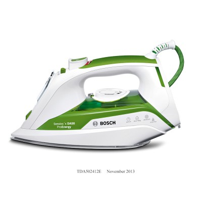 Bosch TDA502412E 2400W Sensixx'x DA50 ProEnergy Steam Iron