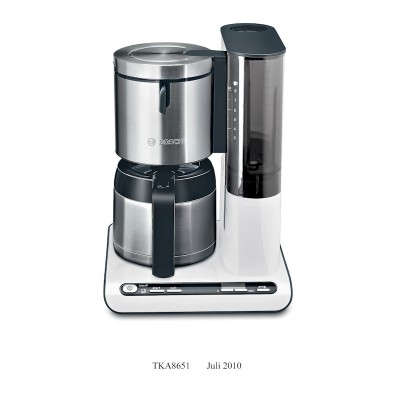 Bosch TKA8651 White Filter Coffee Maker