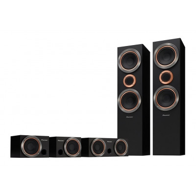 Pioneer S-RS55TB Home Cinema Speakers