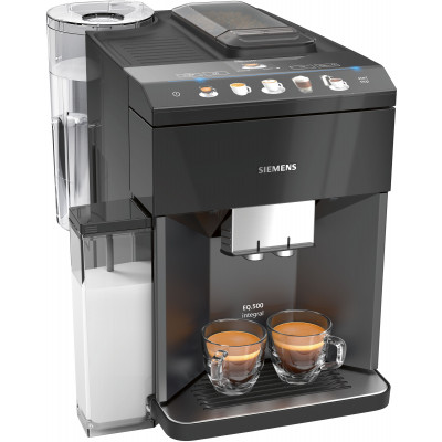 Siemens TQ505R09 EQ.500 Black Built-in Fully Automatic Coffee Machine