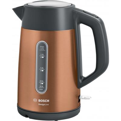 Bosch TWK4P439 1.7L Copper Design Line Kettle
