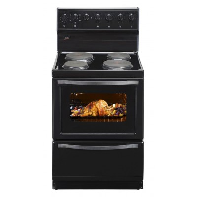 Univa Stove 4 Solid Plates Black 600mm