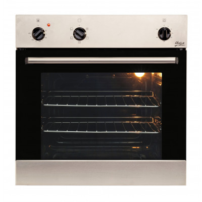 Univa U246SS 600mm 84L Stainless Steel Eye Level Oven