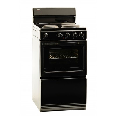 Univa Stove 3 Solid Plates Black 500mm