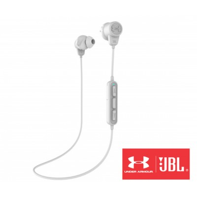 JBL Under Armour Bluetooth White Headphones