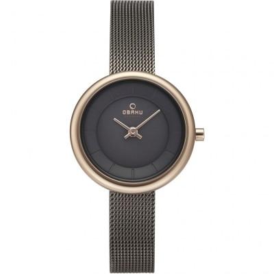 Obaku V146LXVJMJ Stille Rose Granite Watch