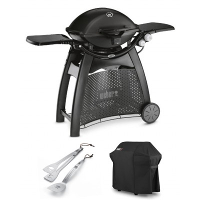 Weber Q3200 Black + Cover + Q-toolset
