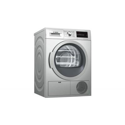 Bosch SERIE 4 8kg Condenser Tumble dryer Silver inox