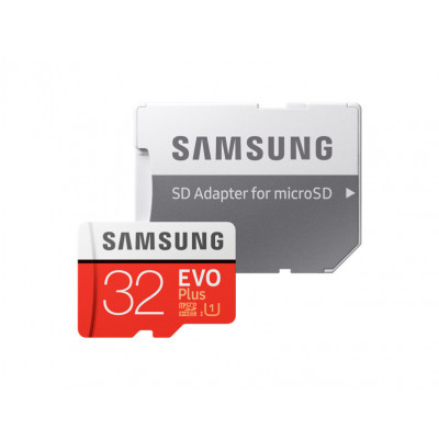 Samsung EVO Plus 32GB MicroSDHC with SD Adapter