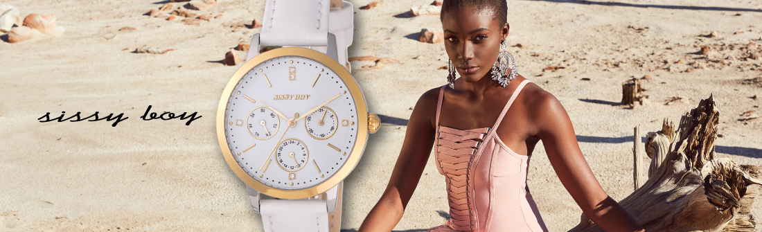 a5cb351a3a31 ... it which they aim to deliver fashion forward pieces that are quality  products. Be fashionable and with the time with Sissy Boy watches.